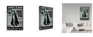 """Trademark Global John W. Golden 'Quelstar Lunar Lander' Canvas Art - 30"""" x 47"""""""