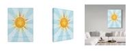 "Trademark Global John W. Golden 'Sunshine' Canvas Art - 35"" x 47"""