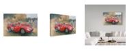 "Trademark Global Peter Miller 'Ferrari, day out at Meadow Brook' Canvas Art - 30"" x 47"""