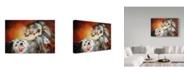 "Trademark Global Marcia Baldwin '4 Feathers Indian War Pony' Canvas Art - 47"" x 30"""