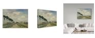 "Trademark Global Johan Barthold Jongkind 'The Towpath' Canvas Art - 32"" x 24"""