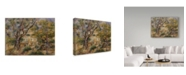 "Trademark Global Pierre Auguste Renoir 'The Farm At Les Collettes Cagnes' Canvas Art - 24"" x 18"""