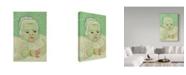 "Trademark Global Vincent Van Gogh 'Roulins Baby' Canvas Art - 32"" x 22"""
