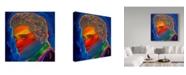 "Trademark Global Howie Green 'Elvis Rainbow' Canvas Art - 35"" x 35"""