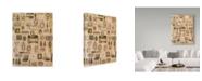 """Trademark Global Hope Street Designs 'Makeup Scrap' Canvas Art - 35"""" x 47"""""""