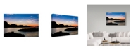 "Trademark Global Janice Sullivan 'Havasu Sunset I' Canvas Art - 32"" x 22"""