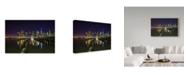 "Trademark Global Jason Matias 'Dumbo Brooklyn' Canvas Art - 32"" x 22"""