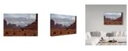 "Trademark Global J.D. Mcfarlan 'Monument Valley Iii' Canvas Art - 32"" x 22"""