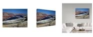 "Trademark Global J.D. Mcfarlan 'Flaming Gorge' Canvas Art - 47"" x 35"""