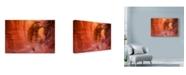 "Trademark Global Michael Blanchette Photography 'Stone Tunnel' Canvas Art - 32"" x 22"""