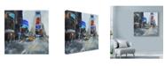 "Trademark Global Solveiga 'Times Square New York' Canvas Art - 35"" x 35"""