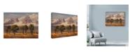 "Trademark Global Wanda Mumm 'Teton View Mountains' Canvas Art - 24"" x 18"""