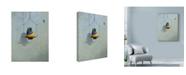 "Trademark Global Michael Jackson 'Gouldian Finch' Canvas Art - 35"" x 47"""