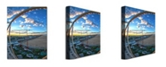 "Trademark Global MCat 'Ocean City' Canvas Art - 32"" x 22"""
