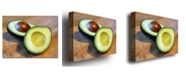 "Trademark Global Michelle Calkins 'Avocado' Canvas Art - 47"" x 35"""