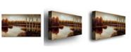 "Trademark Global Rio 'Splendor' Canvas Art - 24"" x 14"""