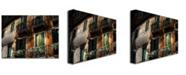 "Trademark Global Lois Bryan 'Balcony' Canvas Art - 24"" x 18"""