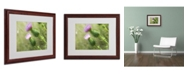 """Trademark Global Monica Fleet 'Assorted Intention' Matted Framed Art - 20"""" x 16"""""""