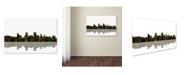 "Trademark Global Marlene Watson 'Anchorage Alaska Skyline II' Canvas Art - 22"" x 32"""