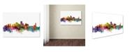 "Trademark Global Michael Tompsett 'New Orleans Louisiana Skyline' Canvas Art - 30"" x 47"""