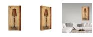 "Trademark Global Lisa Audit 'Tassled Lamp' Canvas Art - 10"" x 19"""