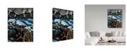 "Trademark Global Jake Hose 'Pirate Black Coats Revenge' Canvas Art - 14"" x 19"""