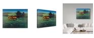 """Trademark Global Kirk Reinert 'September Afternoon' Canvas Art - 14"""" x 19"""""""