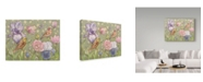 "Trademark Global Maria Rytova 'Spring Flutter' Canvas Art - 14"" x 19"""