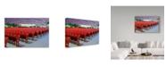 "Trademark Global NjR Photos 'Take Your Seat' Canvas Art - 12"" x 19"""