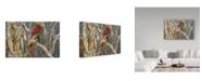 "Trademark Global Ron Parker 'Autumn Cornfield Cardinal' Canvas Art - 12"" x 19"""