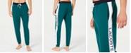 Lacoste Men's Colorblocked Logo-Stripe Jogger Pajama Pants, Created for Macy's