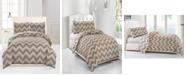 kensie Wyatt Reversible 3-Pc. King Comforter Set