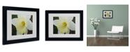 "Trademark Global Monica Fleet 'In-Depth' Matted Framed Art - 14"" x 11"""