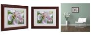 """Trademark Global Monica Fleet 'Natural Haven' Matted Framed Art - 14"""" x 11"""""""