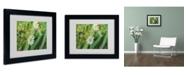 """Trademark Global Monica Fleet 'Distilled Corruption' Matted Framed Art - 14"""" x 11"""""""