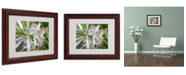 "Trademark Global Monica Fleet 'Bundle of Illusion' Matted Framed Art - 14"" x 11"""