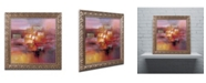 "Trademark Global Ricardo Tapia 'Shadows' Ornate Framed Art - 11"" x 11"""