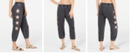 Miken Juniors' Burnout Star Jogger Cover-Up Pants, Created for Macy's