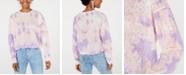 Say What? Juniors' Tie-Dye Long-Sleeve Shirt