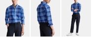 Polo Ralph Lauren Men's Classic Fit Stretch Poplin Button-Down Shirt