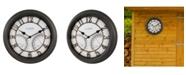 """La Crosse Technology La Crosse Clock 19.7"""" Indoor/Outdoor Courtyard Wall Clock"""
