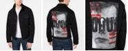 Hugo Boss Men's Pixel Graphic Denim Jacket