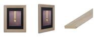 "Trademark Global Christian Jackson 'Rapunzel' Matted Framed Art - 11"" x 14"""