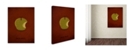 "Trademark Global Christian Jackson 'Snow White' Canvas Art - 14"" x 19"""