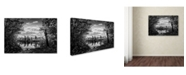 "Trademark Global Jason Shaffer 'Morgan Street 3' Canvas Art - 32"" x 22"""