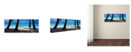 "Trademark Global David Evans 'Island Bliss' Canvas Art - 19"" x 6"""