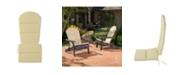 Noble House Malibu Outdoor Adirondack Cushions (Set of 2)