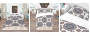 Design Art Designart 'Oriental Pattern' Bohemian and Eclectic Duvet Cover Set - King