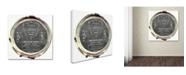 "Trademark Global Color Bakery 'Paris in Frames 8' Canvas Art - 24"" x 24"""