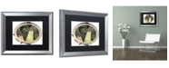 "Trademark Global Color Bakery 'Paris in Frames 9' Matted Framed Art - 16"" x 20"""